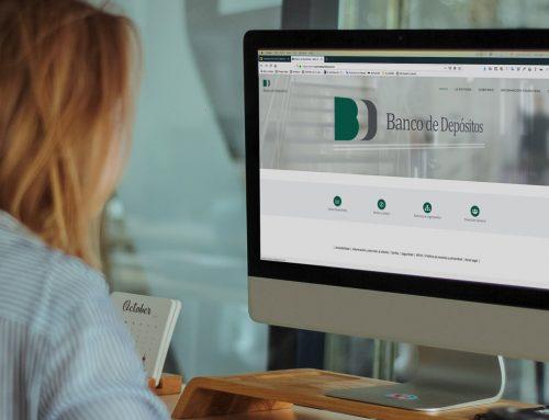Web para Banco de Depósitos