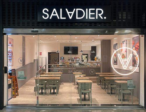 Decoración nuevo restaurante SALADIER en AZCA Madrid